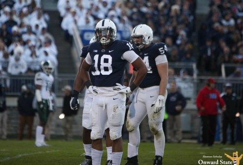 Shaka Toney, Lamont Wade Returning To Penn State Football For Senior Seasons