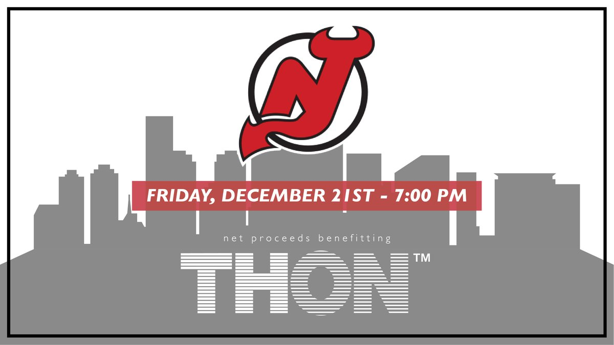 0f6bed6d408c New Jersey Devils To Host Annual THON Night On December 21
