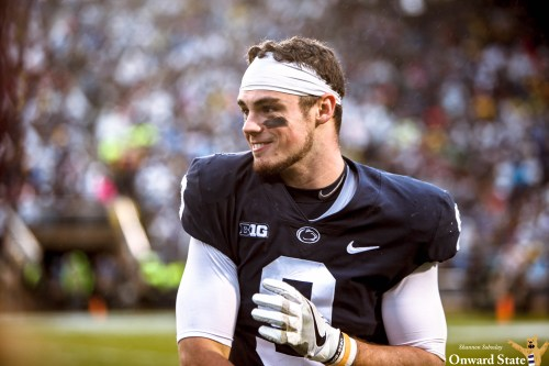 Trace McSorley On Record Watch For Penn State-Rutgers Matchup