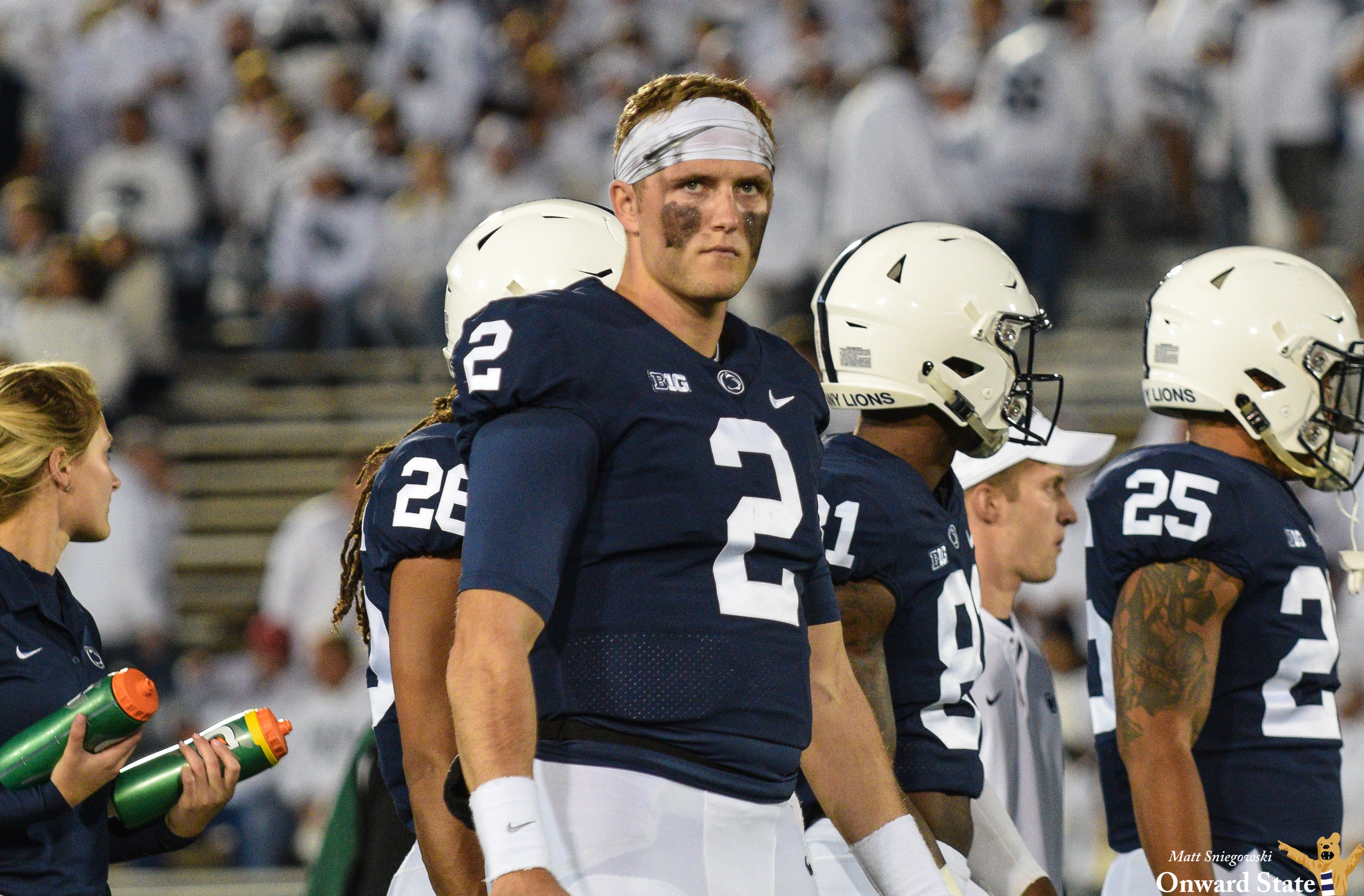Ex-Penn State QB Tommy Stevens is heading to Mississippi State