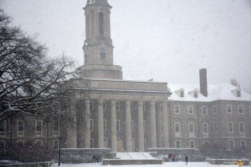 Penn State Cancels Classes Friday Due To Snow