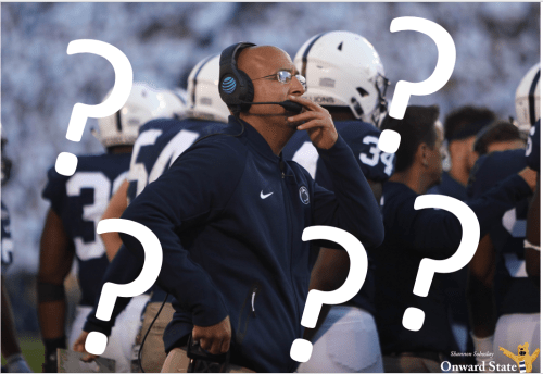 James Franklin Ghosts Penn State Football Freshmen On First Day Of School