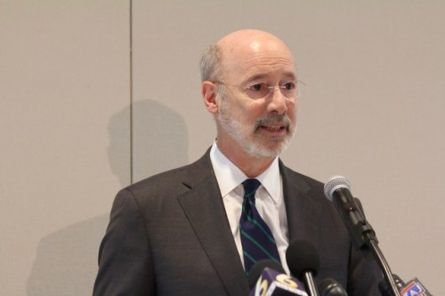 Report: Governor Wolf Discusses Need For Vaccine In Return Of Penn State Athletics