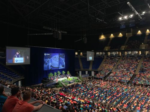 Penn State Welcomes Class of  2023 At Convocation Ceremony