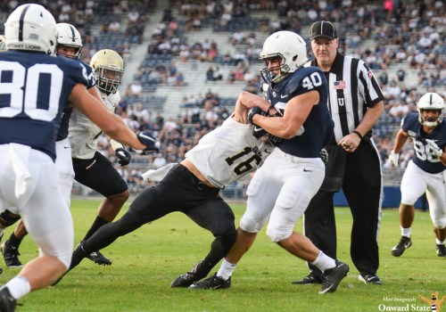 Penn State Football's Nick Eury Awarded Scholarship At Team's Banquet