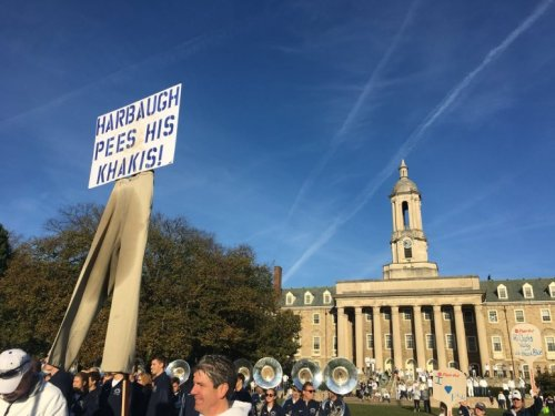 Relive The Best Penn State College GameDay Signs From The Last Two Years