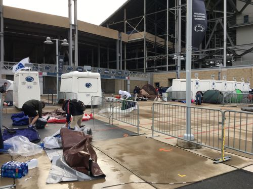 Nittanyville Orders 'Unexpected Tear Down' Due To Heavy Winds