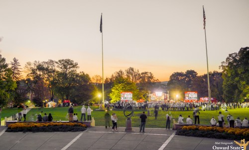 Your Guide To College GameDay On The HUB Lawn