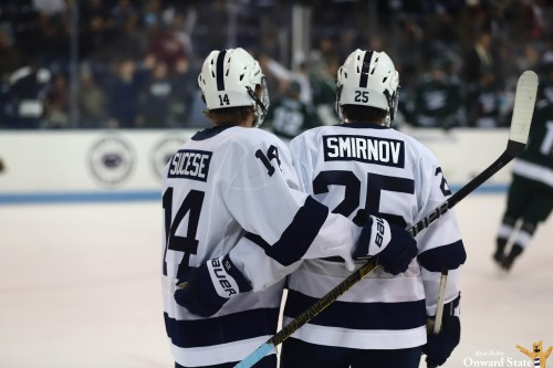 No. 7 Penn State Hockey Edges Out No. 15 Notre Dame 4-2 | Onward State