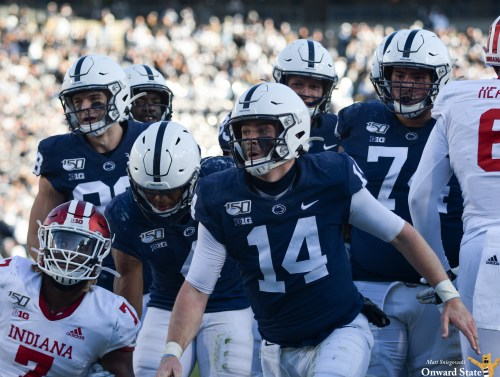 Penn State Finishes Off Indiana With Gorgeous Nine-Minute, 18-Play Drive