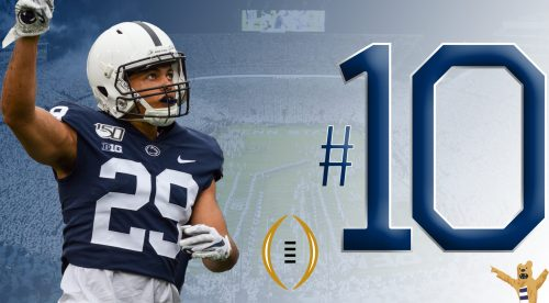 Penn State Football Ranked No. 10 In Final College Football Playoff Rankings Of 2019 Season