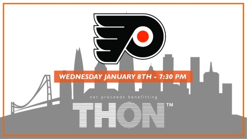 Philadelphia Flyers To Host THON Game January 8 | Onward State