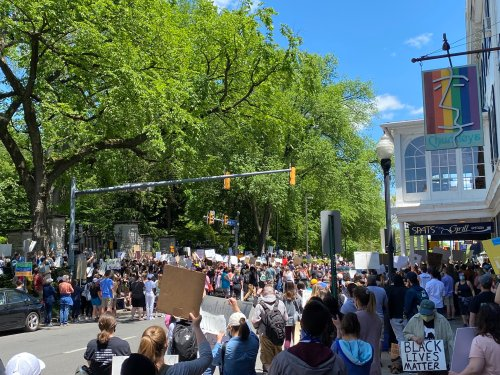 State College Community Rallies At 'Justice For George Floyd' Protest
