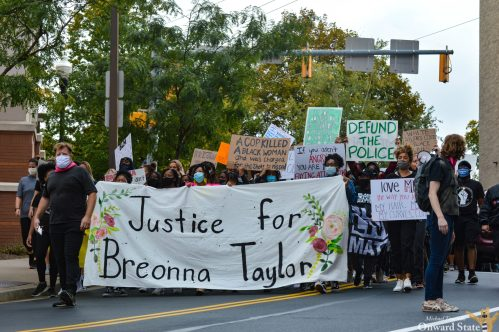 [Photo Story] 3/20 Coalition Hosts 'Justice For Breonna Taylor' Protest, March