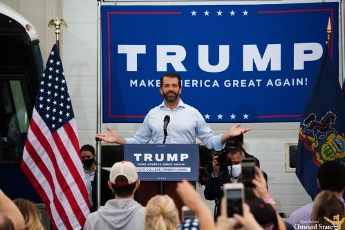 Donald Trump Jr. Campaigns In State College