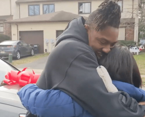 Jason Cabinda Surprises Mom With New Car