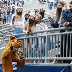 [Photo Story] Fans Eagerly Return To Beaver Stadium For 'Blue-White' Practice