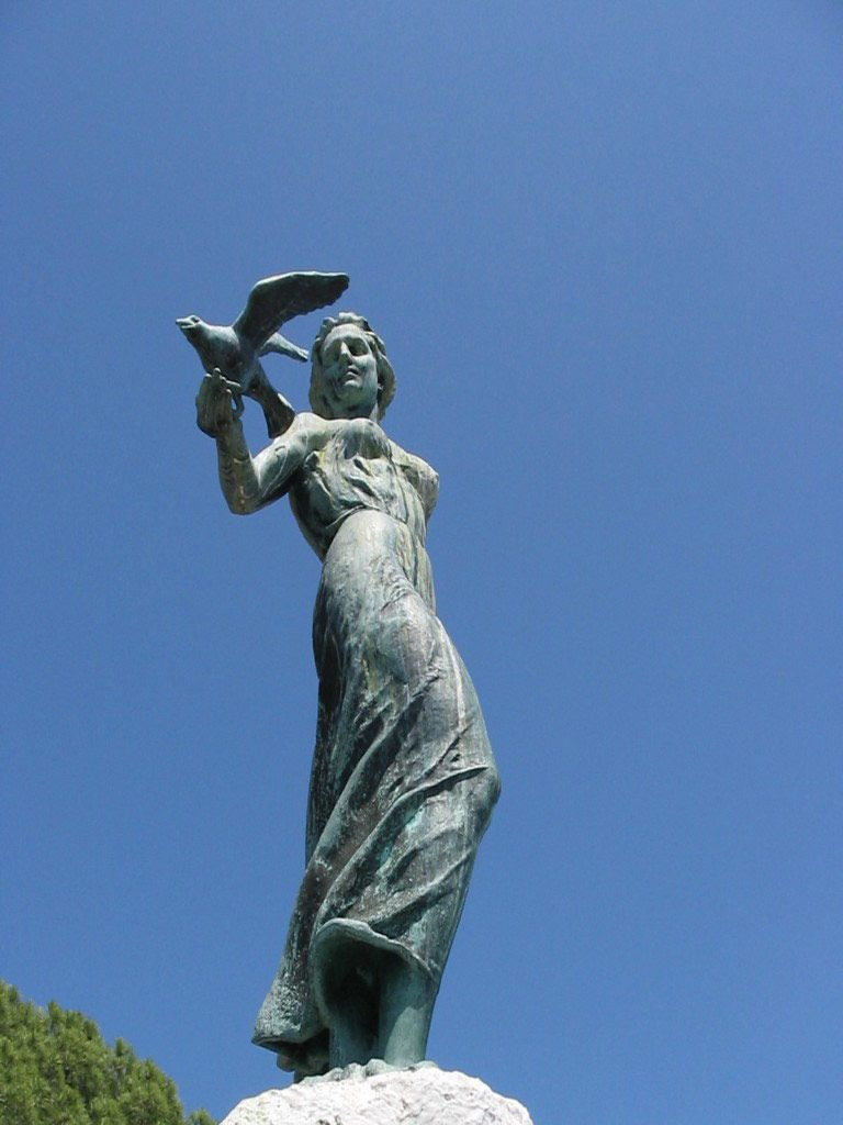 Maiden with the Seagull  Opatija Online