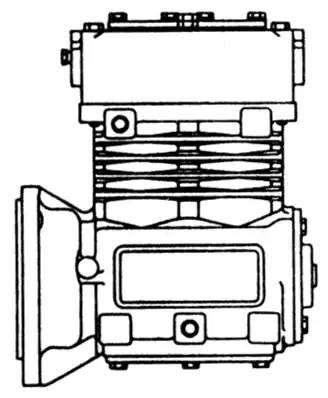 Air Brake Compressor Unloader Valve Diagram