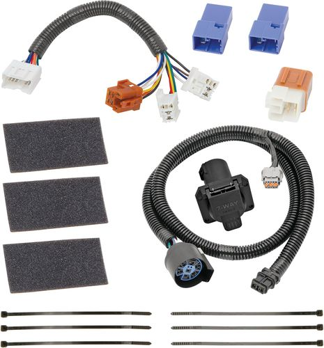 hopkins wiring harnesses towing solutions trailer harness kit msd 6al 6420 diagram list: connector/harness/wiring-vehicle specific - 2006 nissan frontier | o'reilly auto parts