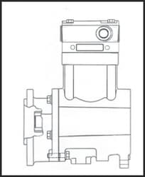 Truck Compressor With Unloader Compressor Belt Wiring