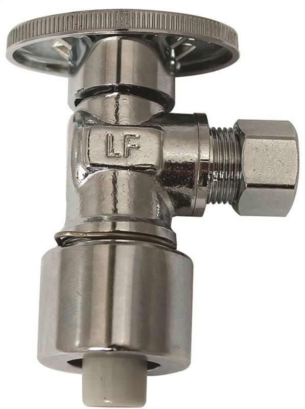 Plumb Pak PP2622POLF 14 Turn PushFit Quick Lock Angle