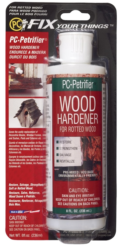 Wood Hardener For Rotted Wood