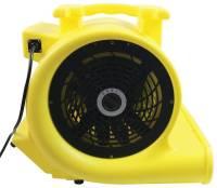 Maxxair HVCF 4000 High Velocity Carpet Fan, 4000 cfm, 1 hp ...