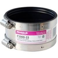 Pro-Flex P3000-33 Shielded Transition Coupling, 3 in x 3 ...