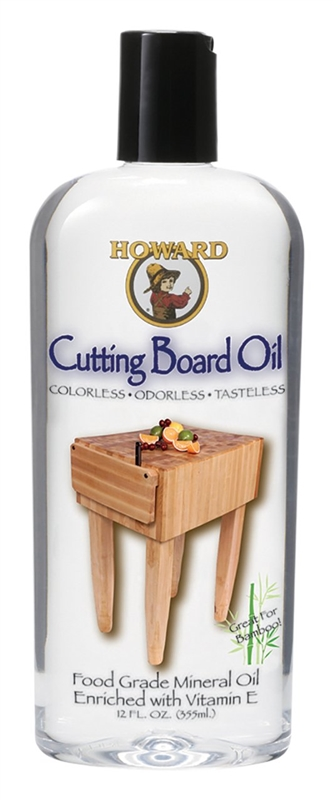 Cutting Board Oil Howard Bbb012 Cutting Board Oil, 12 Oz