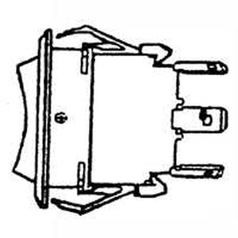 United States Hardware M-146C 3-Way Bilge Pump Switch, 6