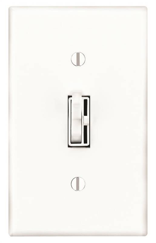 Lutron TG-603PH-WH Preset Toggle Dimmer, 120 VAC, 5 A, 600