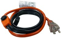 Easy Heat AHB Pipe Heating Cable With Thermostat, 1 in, 3 ...