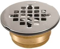 Oatey 140 Shower Stall Drain, 2 in, Brass