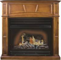 Kozy World GFD3280R Gas Fireplace, 32000 BTU, 1350 sq-ft ...