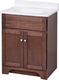 Foremost Columbia COCAT2418 Contemporary Bathroom Vanity ...
