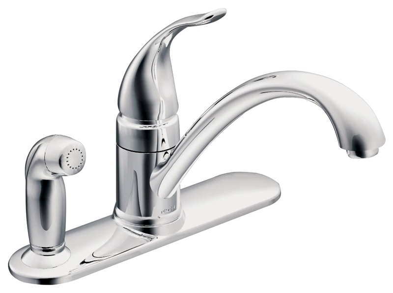 moen kitchen faucets retro wallpaper ca87484 faucet with protege side spray 9 in x 5 15 products