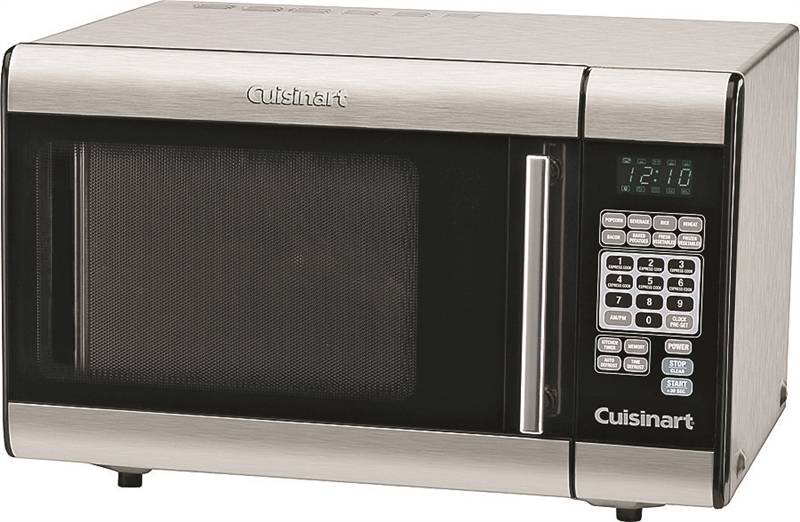 cuisinart cmw 100 microwave oven 1 cu ft capacity 1000 w stainless steel black