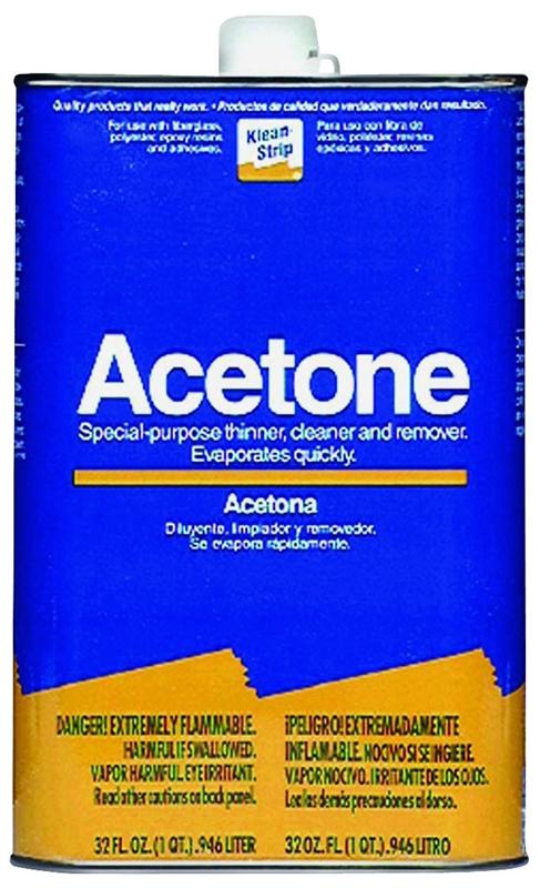 Acetone Vs Paint Thinner : acetone, paint, thinner, Klean, Strip, QAC18, Acetone, Thinner,, #VORG8976995,