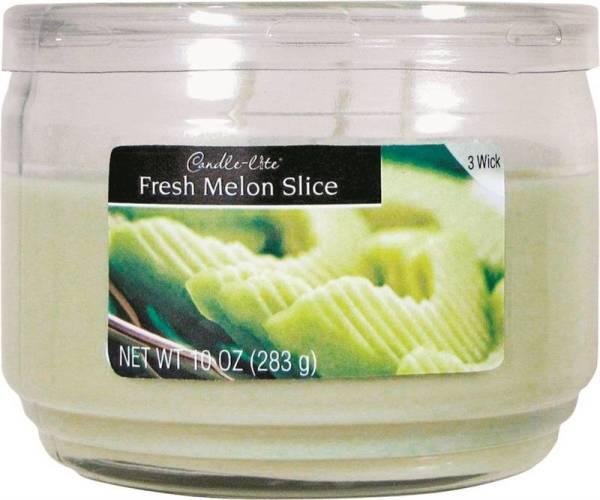 10Oz 3Wick Jar Melon Slice Case of 4