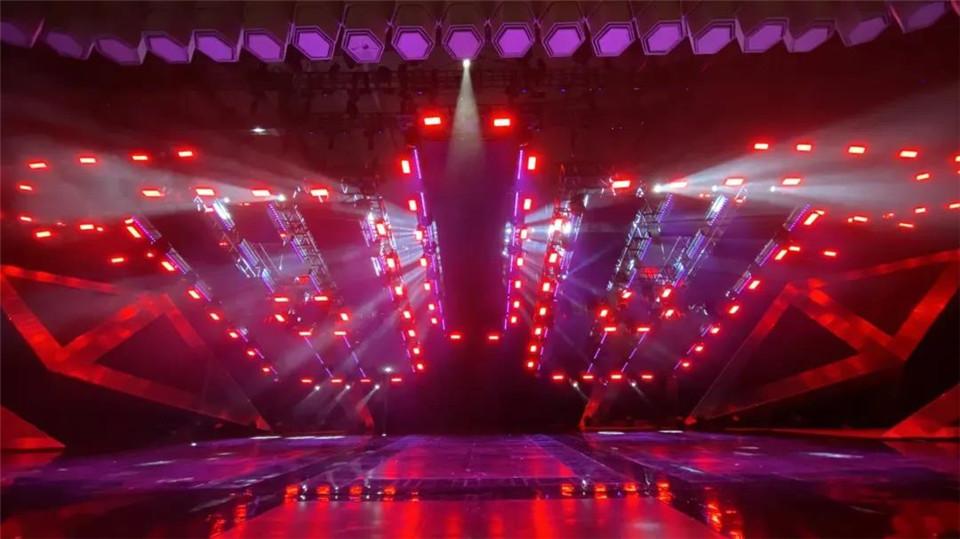 湖南衛視舞美展示丨818全球汽車夜2020|資訊-元素谷(OSOGOO)