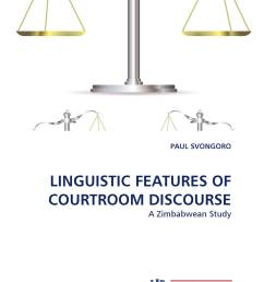 linguistic features of courtroom discourse [ 2000 x 3000 Pixel ]