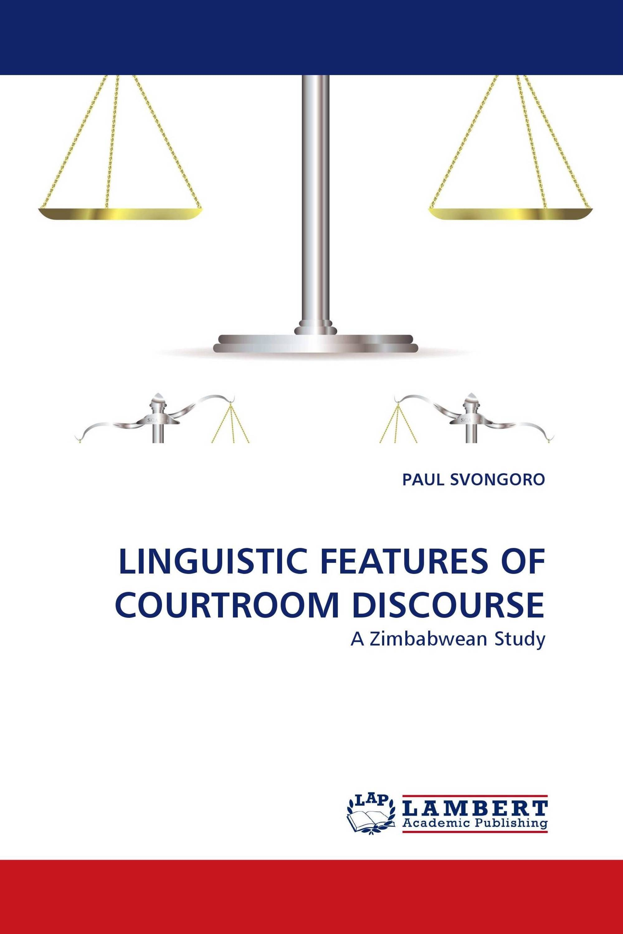 hight resolution of linguistic features of courtroom discourse
