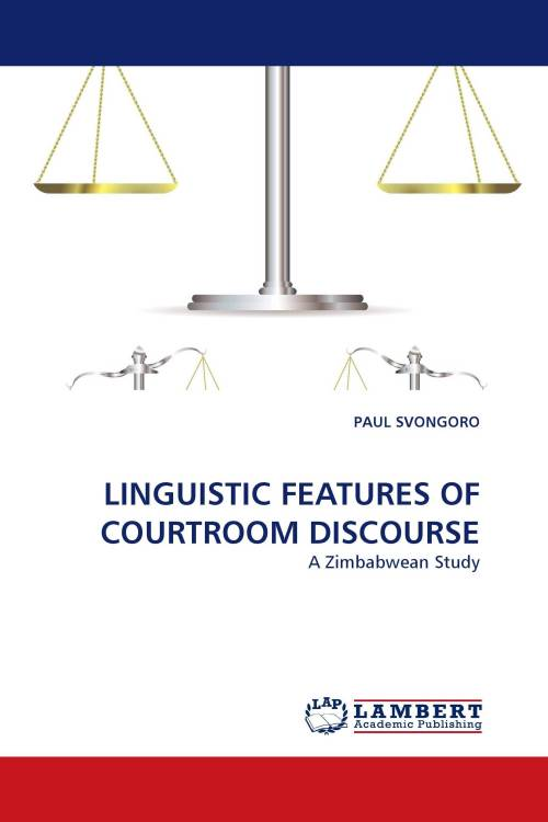 small resolution of linguistic features of courtroom discourse