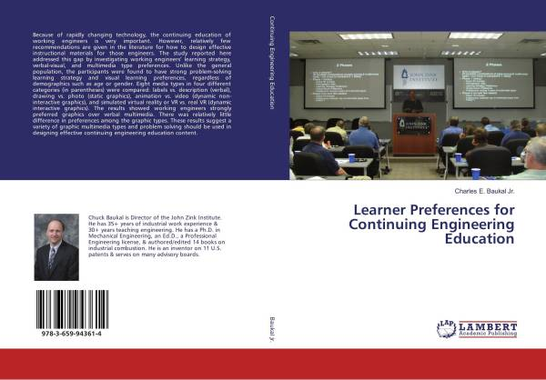Learner Preferences Continuing Engineering Education