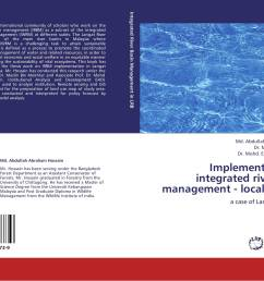 bookcover of implementation of integrated river basin management local context [ 2000 x 1425 Pixel ]