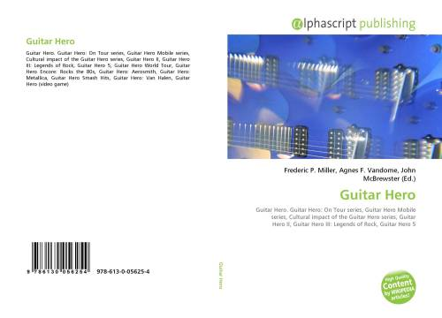 small resolution of bookcover of guitar hero