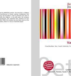 bookcover of van hool 9786131423109 [ 2000 x 1459 Pixel ]