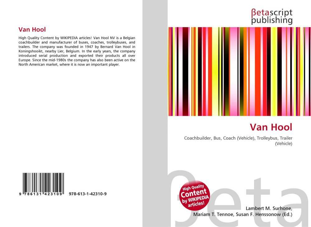 medium resolution of bookcover of van hool 9786131423109