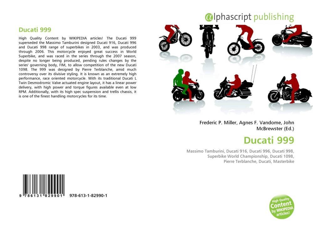 medium resolution of bookcover of ducati 999